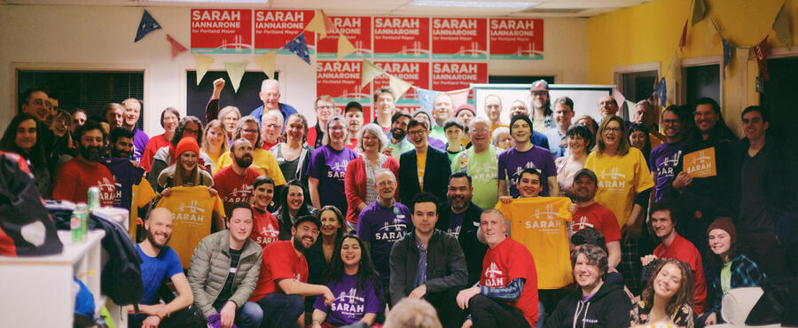 The campaign field kickoff